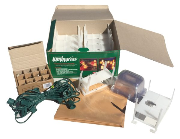 Luminarias Set Open Box